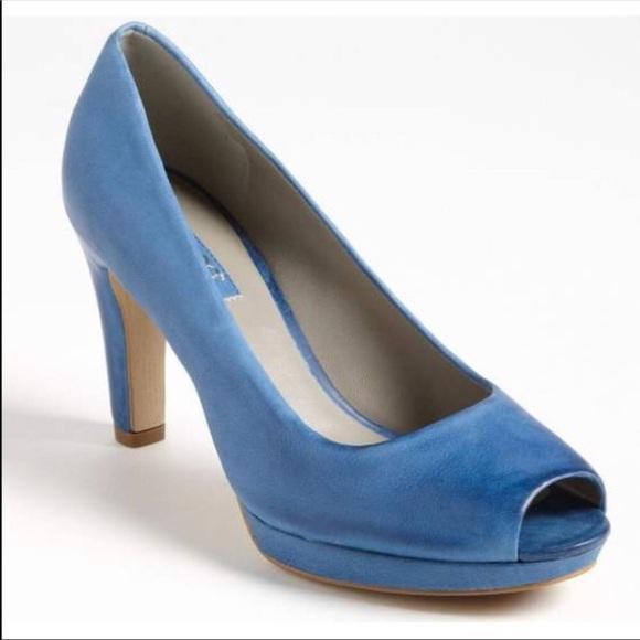 Ecco scarpe Pelle   Pelle scarpe Pumps blu   Poshmark 5d2a88
